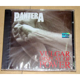 Pantera Vulgar Display Of Power Cd Argentino Sellado
