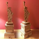 Estatua De La Libertad Mdf De 57 Cm De Alto. Fabricantes