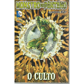 Monstro Do Pantano O Culto - Panini - Bonellihq Cx313 E18
