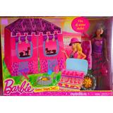 Set De Campamento En Safari De Hermana De Barbie
