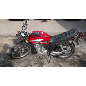 Moto Fym Yossung 125 Sucata Com Nota De Leilão