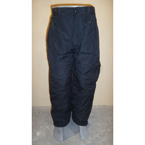Pantalon S Montaña Nieve -30 Bajo Cero Impermeable Térmico