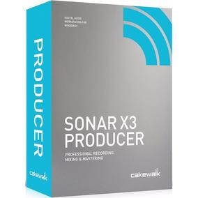 Sonar X3 Prdoucer (versão Completa Com Update X3e)