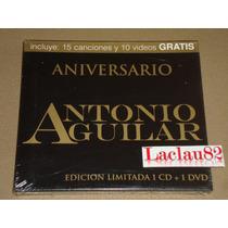 Antonio Aguilar Aniversario 2011 Musart Cd Nuevo