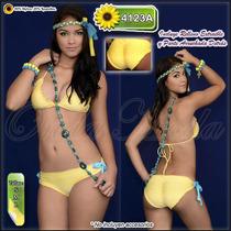 Traje Baño Damas Ultima Moda 2017 Bikinis Altos Arruchados