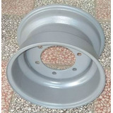 Pack 2 Rines 24.5x8.25+2 Llantas 11r24.5 Ling Long Serv. Mix