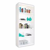 Biblioteca Con Estantes Mueble Para Libros Libreria Mosconi