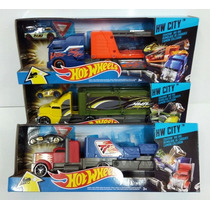Hot Wheels Camion Remolque Art Y1868