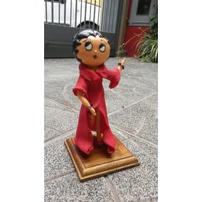 Betty Boop Adorno Para Torta Porcelana Fria
