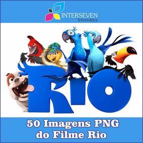 Pacote Com 50 Imagens Do Filme Rio Em Png