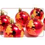 Bola Bolas D Natal Enfeite Árvore Pendente 12 Peças Presépio