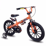 Bicicleta Infantil Aro 16 Bike Masculino Nathor Criança + Nf