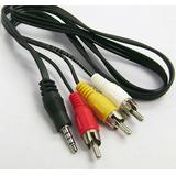 Cable Av 3.5 Audio Y Video Para Ipod Y Iphone Y Directv