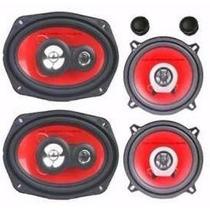 Juego Parlante Sound Xtreme 6x9 600w + 5 1/4 400w Pmpo Cjf