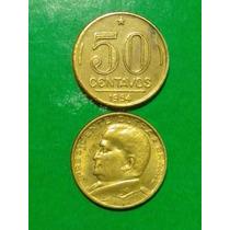 50 Centavos/1954 - Dutra (v.221) = Mbc