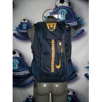 Mochila Backpack Escuela Viaje Original Pumas Unam Nike 2016