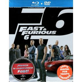 Bluray Steelbook Rapidos Y Furiosos 6 ( Fast & Furious 6 )
