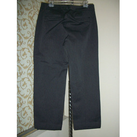Pantalon De Vestir Gris Dockers P/dama Talla 38 Mex 12 Amer