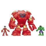 Bonecos Super Hero Adventure Armaduras Stark Tech
