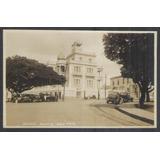 Postal Antigo Maceió Alagoas Palácio Bela Vista Carros