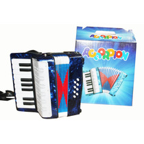 Acordeon Vallenato Musical Instrumto Niños Teclado Correas
