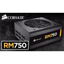 Fonte Corsair 750w Modular Rm750 80plus Gold - Rm Series