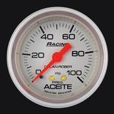 Kit 4 Relojes Orlan Rober Aceite Agua Amp Nafta 52mm Plata