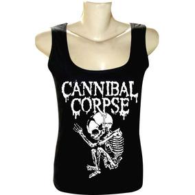 Camiseta Cannibal Corpse Tam G Death Slayer Aborted Camisetas Manga ... 0222695e613