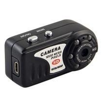 Mini Câmera Espiã Hd 1080p Com 8gb - Visão Noturna