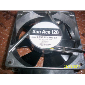 Cooler 48vdc Ventilador (fan) Sanyo 0.15amp Modelo Sanace120