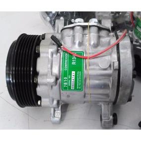 Compressor Ar Condicionado 7b10 Gm Corsa 1.0 Adaptação Zexel