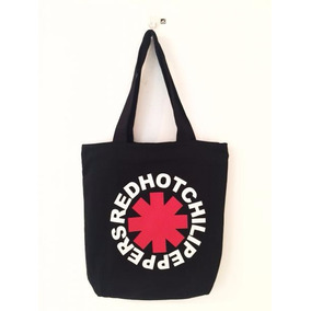 Bolsa De Tecido (tipo Sacola) Red Hot Chilli Peppers