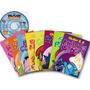 Folclore Em Contos E Cantos - 8 Livros Infantis + Dvd/cd-rom