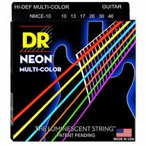 Corda Dr Neon Colorida 010 K3 Para Guitarra Promoçao