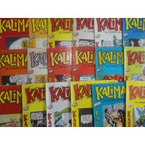 Lote Comics Kaliman ,el Hombre Increible,1998