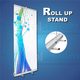 Banner Roll Screen Up Stand 90cm X 2mts + Maletin Itelsistem