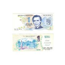 Billete Menem - Original - Sin Circular Lote 5 Billetes