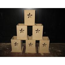 Portalapices Fibrofacil 6x6x9 Calados Listo Para Pintar