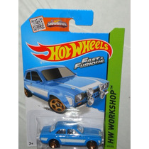 Hot Wheels 70 Ford Escort Rs Rapido Y Furioso Fast & Furious