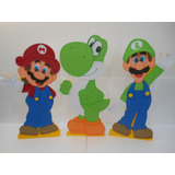 Figuras De Mario Bross En Foami 50 Cms