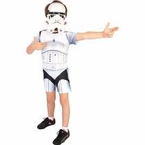 Fantasia Infantil Stormtrooper Star Wars Original P