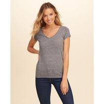 Camiseta Hollister Abercrombi &fitch Roupa Feminina Original