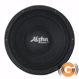 Alto Falante Alpha Khromus 12 Alpha 1200w Goiás Musical
