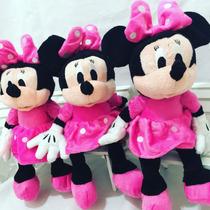 3 Minnie Rosa Pelúcia