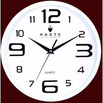 Reloj De Pared Marca Haste Mod. 100517327