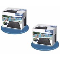 2 Pack De Tapete Calentador Solar De Alberca Intex Pvc 1.2m2