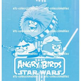 Star Wars Calcomanias - Angry Bids Stickers - Envio Incluido