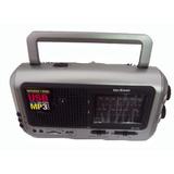 Radio Parlante Ken Brown 410 + Entrada Usb/sd + Micrófono
