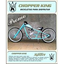 Bicimoto Chopper King Promocional Oferta En Efectivo