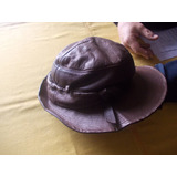 Sombrero Dama Cuero A. Marsar. Bs. As., Arg.